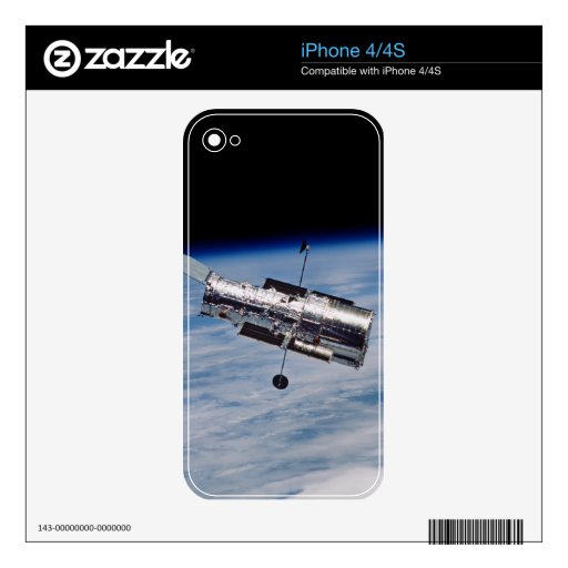 Hubble Space Telescope Decal For iPhone 4S