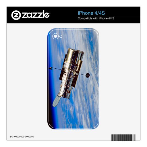 Hubble Space Telescope Skin For The iPhone 4