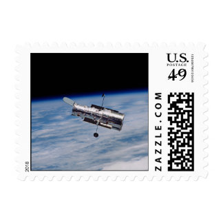 Hubble Space Telescope - small Postage Stamp