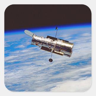 Hubble Space Telescope Square Sticker