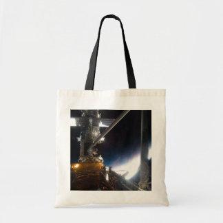 Hubble telescope canvas bag