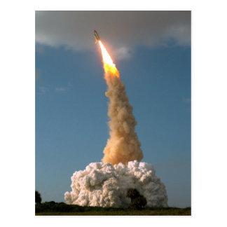 Hubble telescope launch postcard