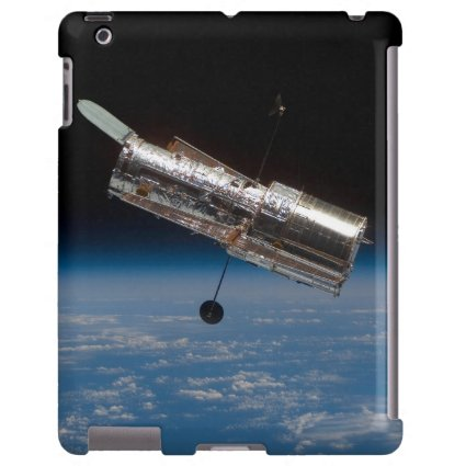 Hubble Telescope over Earth