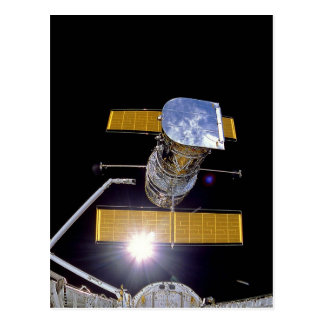 Hubble telescope postcard
