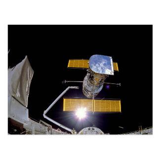 Hubble telescope postcards