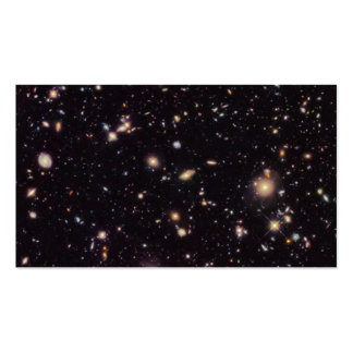 Hubble Ultra Deep Field 2012 Business Card