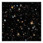 Hubble Ultra Deep Field Extra Large Poster