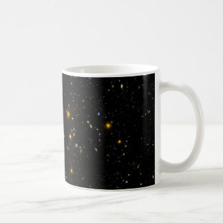 Hubble Ultra Deep Field Image Constellation Fornax Classic White Coffee Mug