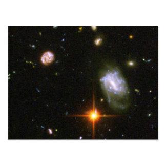 Hubble Ultra Deep Field Image Postcard