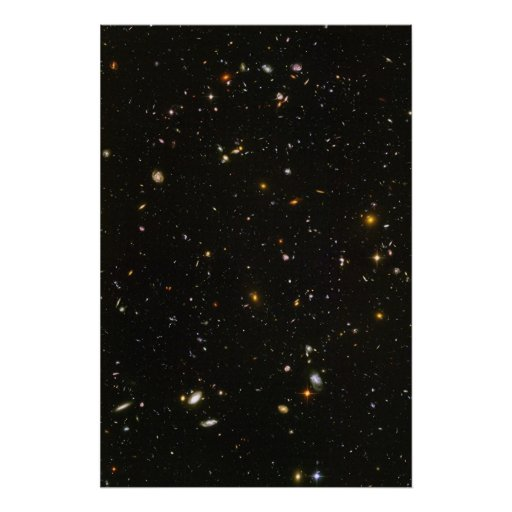 Hubble Ultra Deep Field Photo Posters