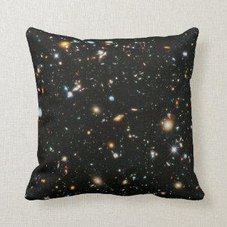 Hubble Ultra Deep Field Throw Pillows