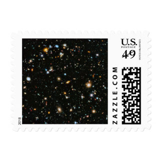 Hubble Ultra Deep Field Postage Stamp