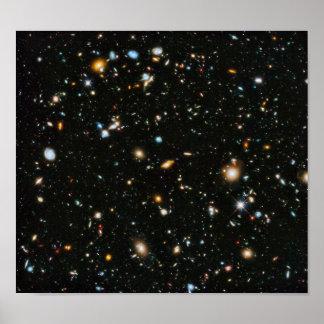 Hubble Ultra Deep Field Print