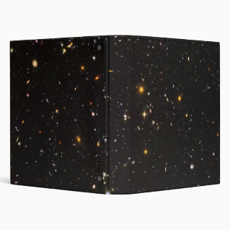 Hubble Ultra Deep Field View of 10 000 Galaxies 3 Ring Binders