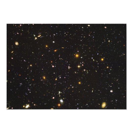 Hubble Ultra Deep Field View of 10,000 Galaxies Card