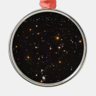 Hubble Ultra Deep Field View of 10,000 Galaxies Metal Ornament