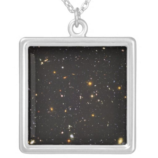 Hubble Ultra Deep Field View of 10,000 Galaxies Necklaces