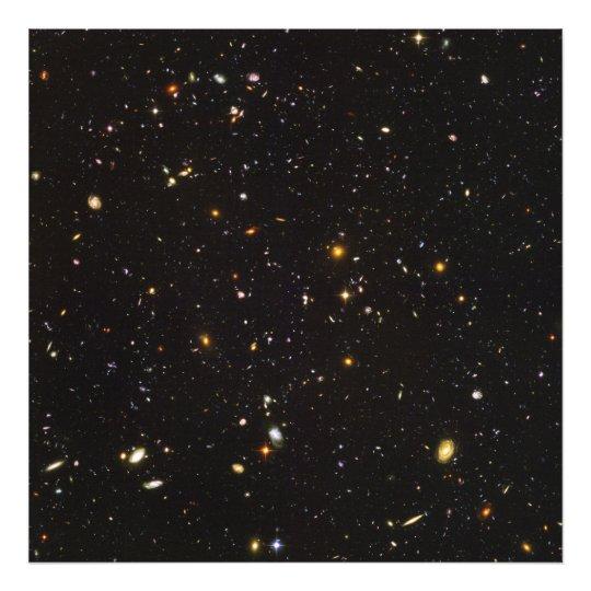 Hubble Ultra Deep Field View of 10,000 Galaxies Photo Print