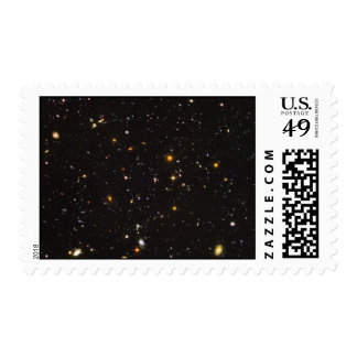 Hubble Ultra Deep Field View of 10,000 Galaxies Postage Stamp