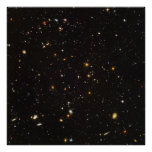 Hubble Ultra Deep Field View of 10,000 Galaxies Posters