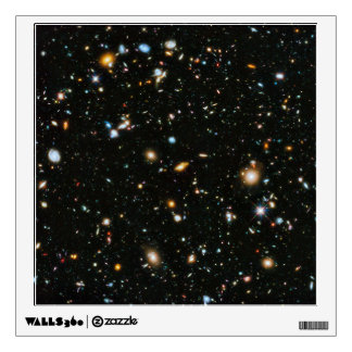 Hubble Ultra Deep Field Room Graphic