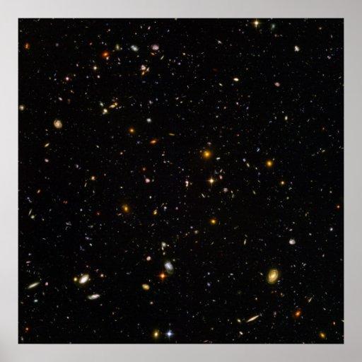 Hubble Ultra Deep Space Field Print