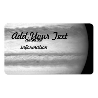 Hubble View of Jupiter Business Card