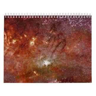 Hubble Views Galactic Core Calendar