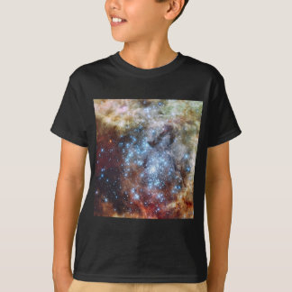 Hubble Watches Star Clusters on a Collision Course T-Shirt