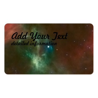 Hubble:WFPC2 and ESO:2.2-m Composite Business Card Templates