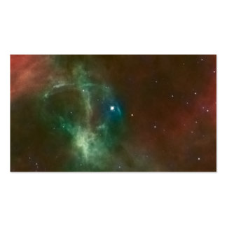 Hubble:WFPC2 and ESO:2.2-m Composite Business Cards