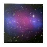 Hubble y compuesto de Chandra, tejas del racimo de
