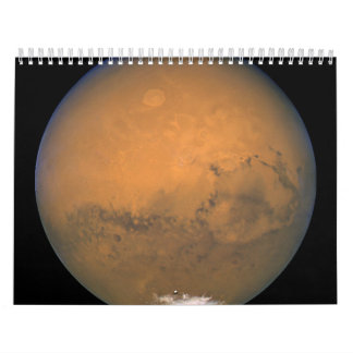 Hubble's Closest View of Mars Wall Calendars