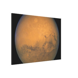 Hubble's Closest View of Mars Canvas Print