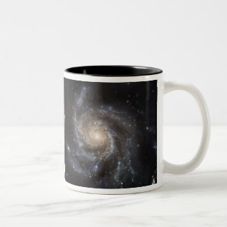 Hubble's Largest Galaxy Portrait Two-Tone Coffee Mug