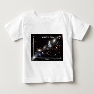 Hubble's Law Baby T-Shirt