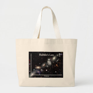 Hubble's Law Large Tote Bag