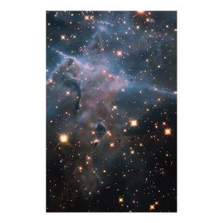 Hubble's 'Mystic Mountain' - Deep Space Flyer