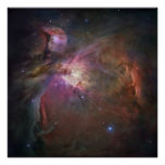 Hubble's sharpest view of the Orion Nebula 60x60 Poster