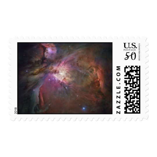 Hubble's Sharpest View of the Orion Nebula Postage