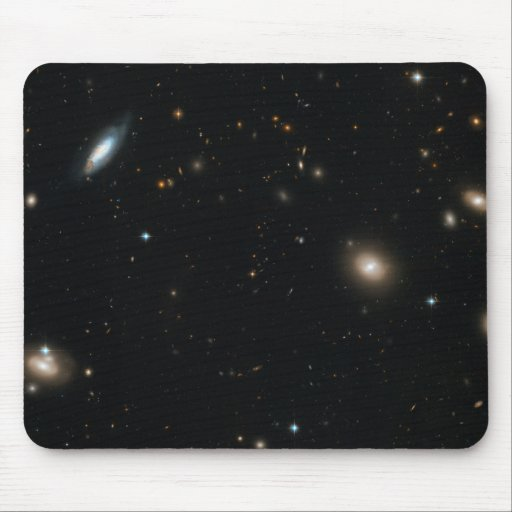 Hubble's Sweeping View of the Coma Cluster of Gala Mouse Pad