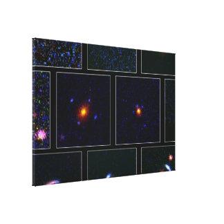 Hubble's Top Ten Gravitational Lenses Canvas Print