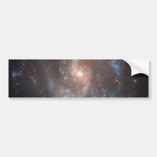 Hubble's View of NGC 5584 Car Bumper Sticker