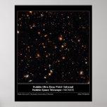 HubbleUltraDeepFieldInfrared-2004-07b Poster