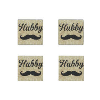 Hubby Mustache Magnets