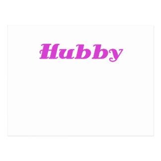 Hubby Postcard