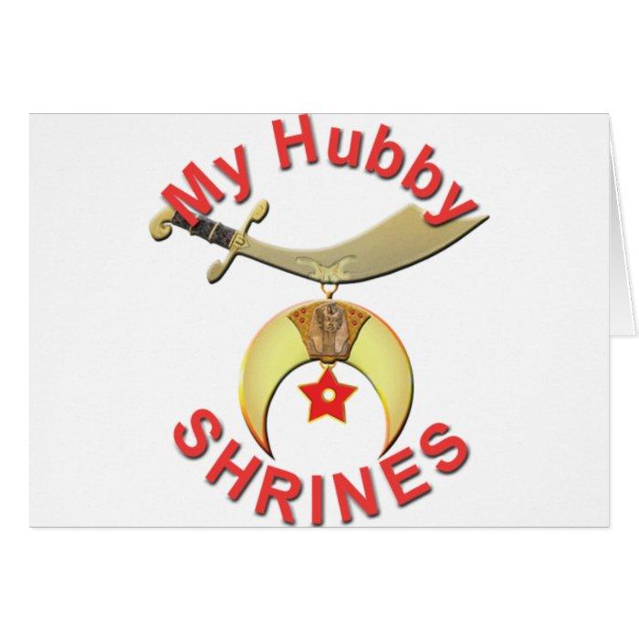 HUBBY  SHRINES CARD