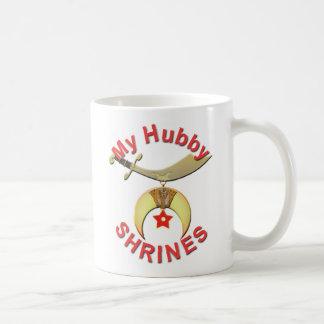 HUBBY  SHRINES COFFEE MUGS