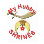 HUBBY  SHRINES POSTCARDS