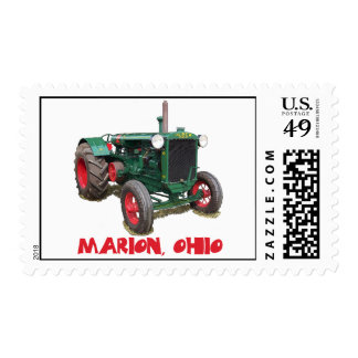 Huber Tractor - Marion, Ohio Postage Stamp